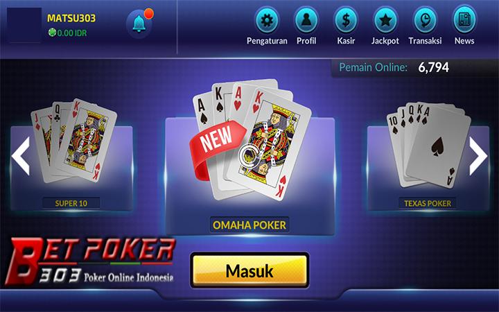 Deposit Poker 10ribu