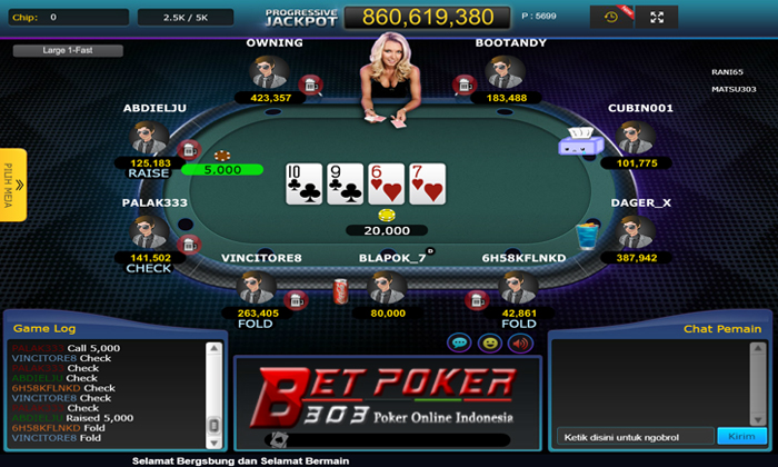 istilah game poker