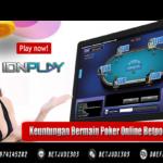 Keuntungan Bermain Poker Online Betpoker303.cc