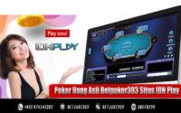 Poker Uang Asli Betpoker303 Situs IDN Play